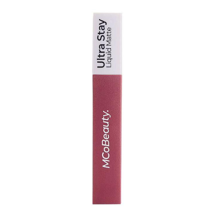 MCoBeauty Ultra Stay liquid Matte Lipstick Dusty Mauve, , hi-res