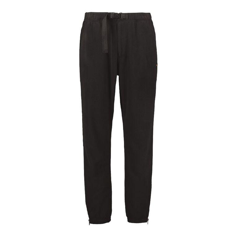 Back Country Men's Plain Fleece Pants, Black, hi-res