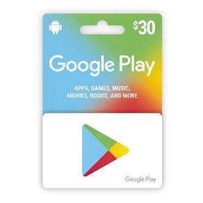 Google Gift Card $30