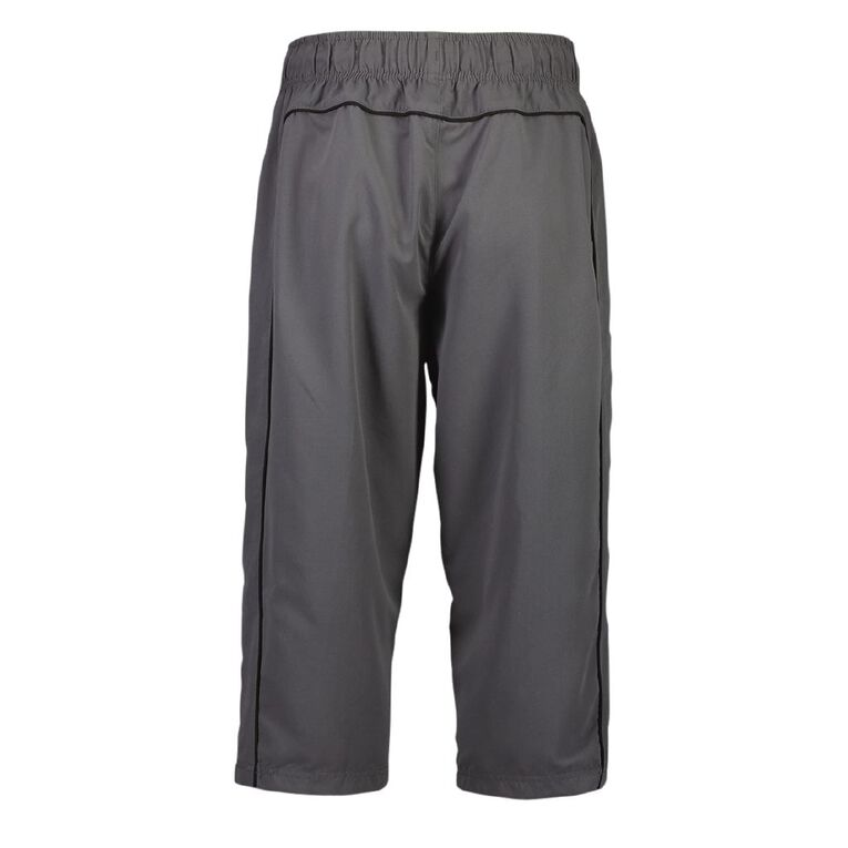 Active Intent Men's 3/4 Double Pipe Trackpants, Grey Dark, hi-res image number null