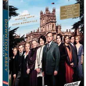 Downton Abbey Season 4 DVD 3Disc