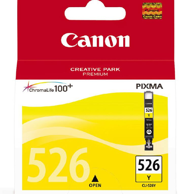 Canon Ink CLI526 Yellow (500 Pages), , hi-res