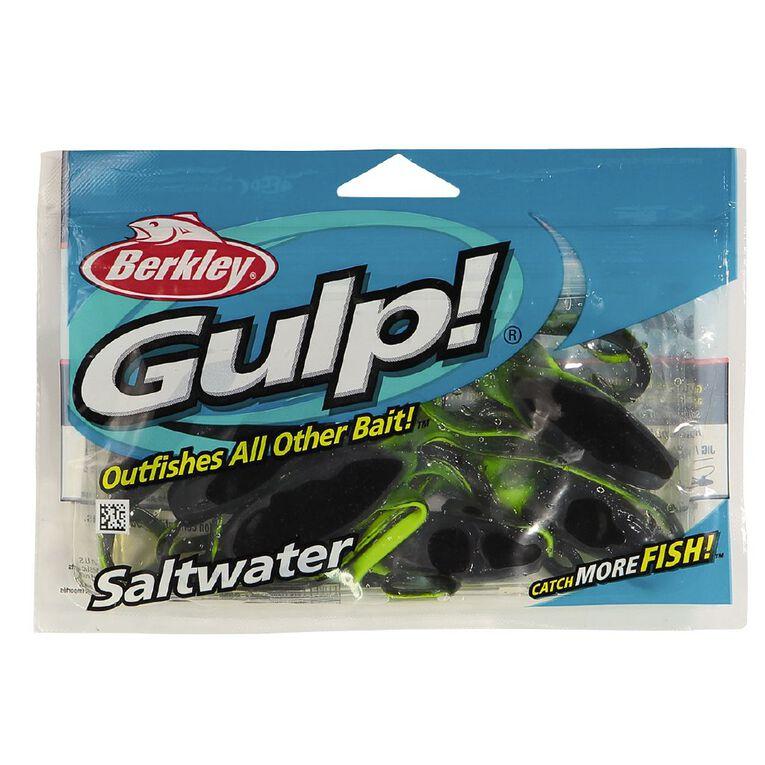 Gulp Soft Bait Squid Black 6in, , hi-res
