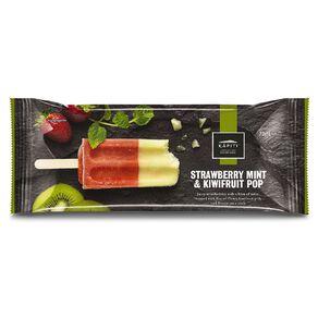 Kapiti Pop Strawberry Mint & Kiwifruit 73ml