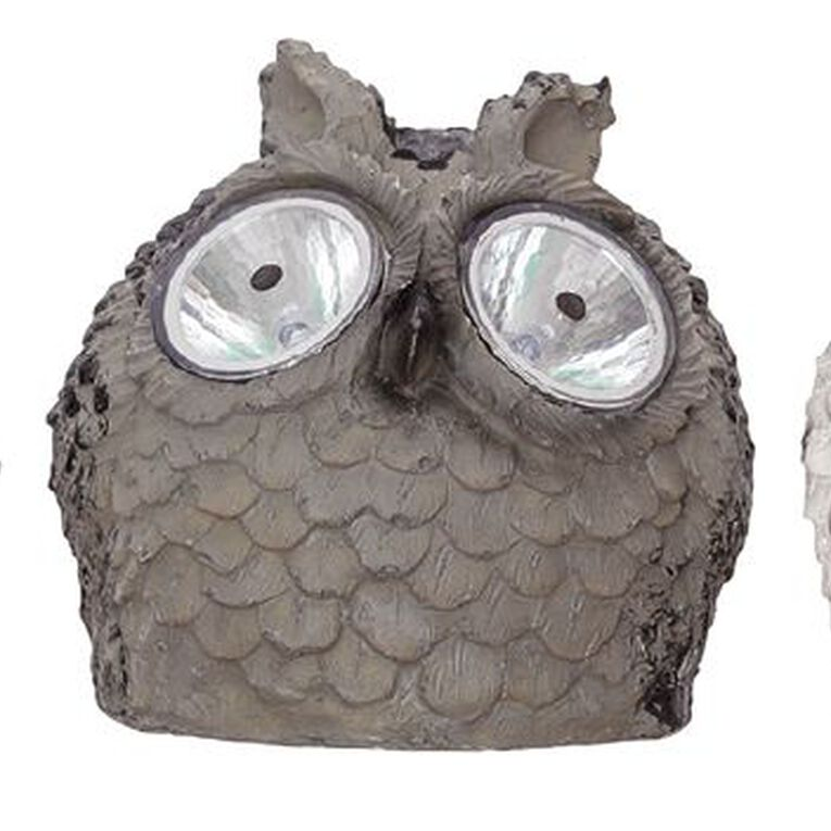 Kiwi Garden Solar Owl Light Assorted, , hi-res