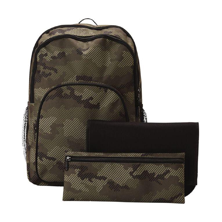 H&H Junior Bundle Backpack, Khaki, hi-res