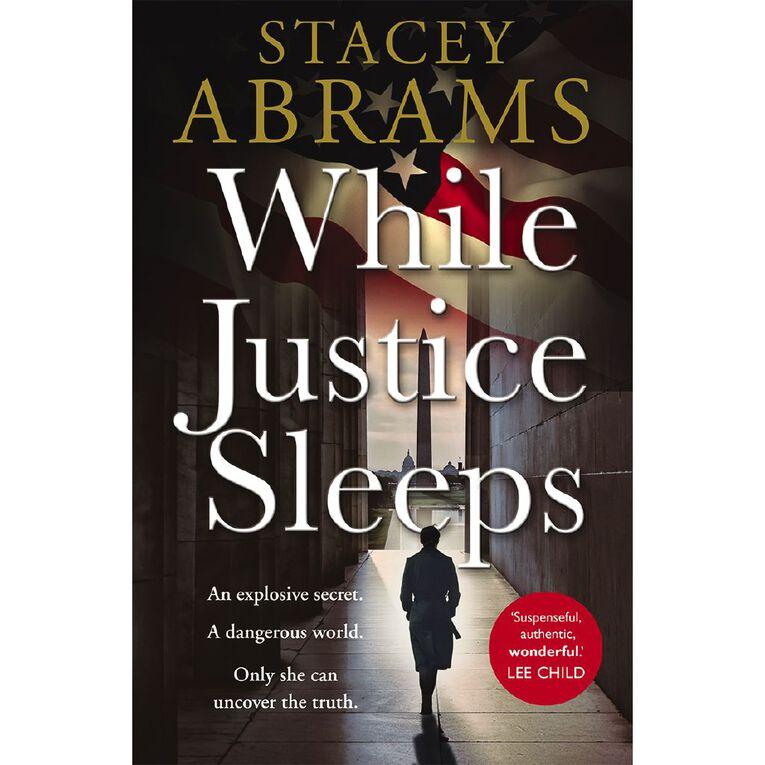 While Justice Sleeps by Stacey Abrams, , hi-res