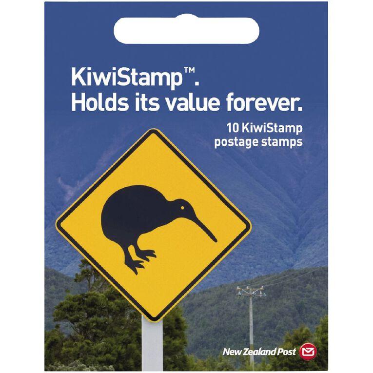New Zealand Post KiwiStamp Booklet, , hi-res