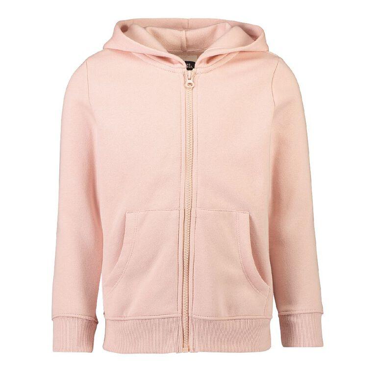 Young Original Zip-Thru Sweatshirt, Pink Light, hi-res