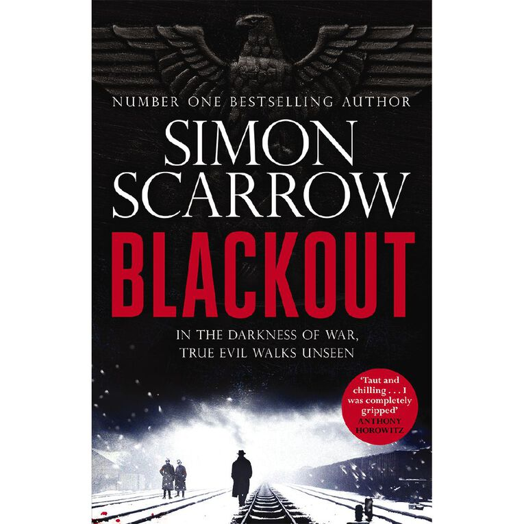 Blackout by Simon Scarrow, , hi-res image number null