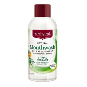 Red Seal Natural Mouthwash Thyme Extract 450ml