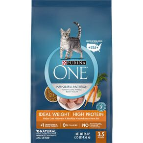 Purina One Cat Healthy Ideal Weight High Protein1.59kg
