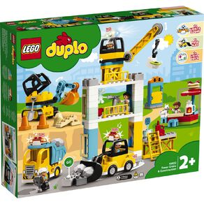 LEGO DUPLO Tower Crane and Construction 10933