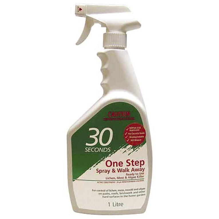 30 Seconds Spray & Walk Away Lichen Moss & Algae Killer Ready to use 1L, , hi-res