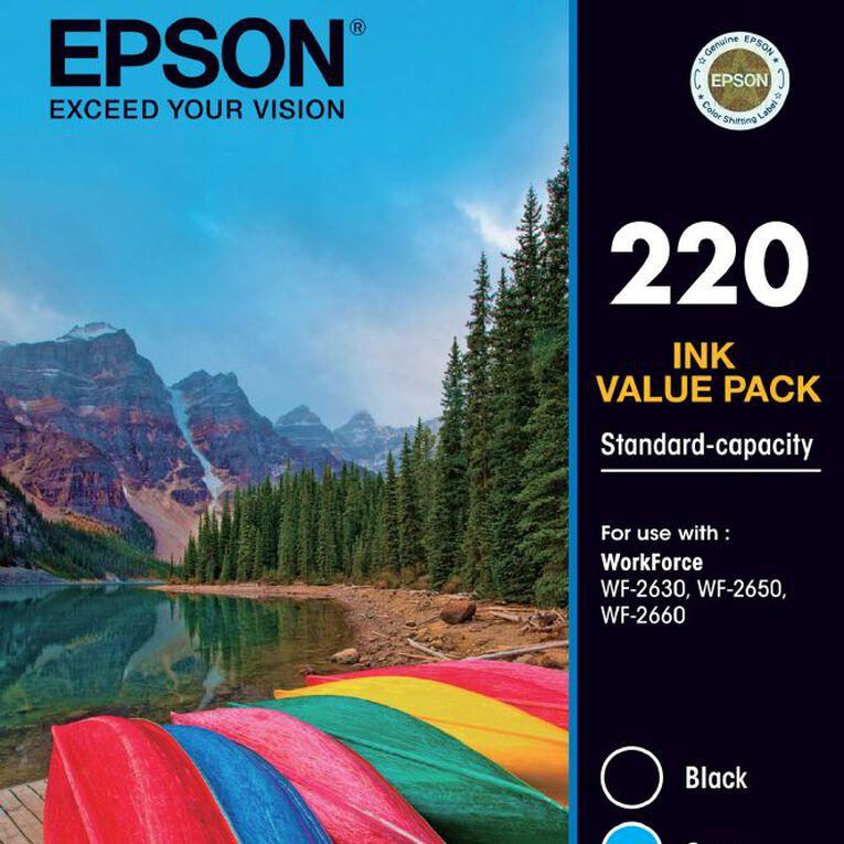 Epson Ink 220 Value 4 Pack, , hi-res