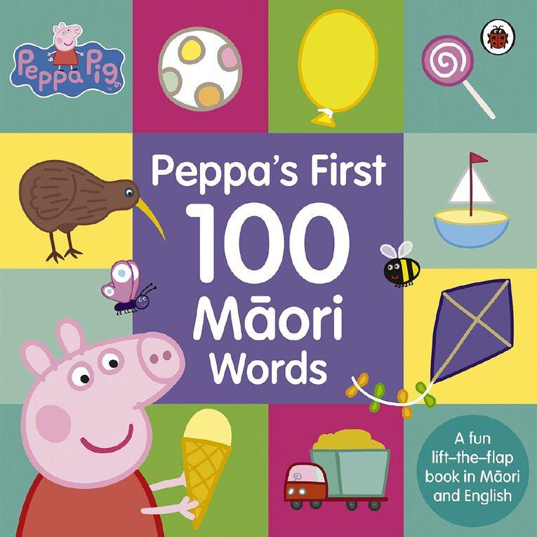 Peppa's First 100 Maori Words, , hi-res