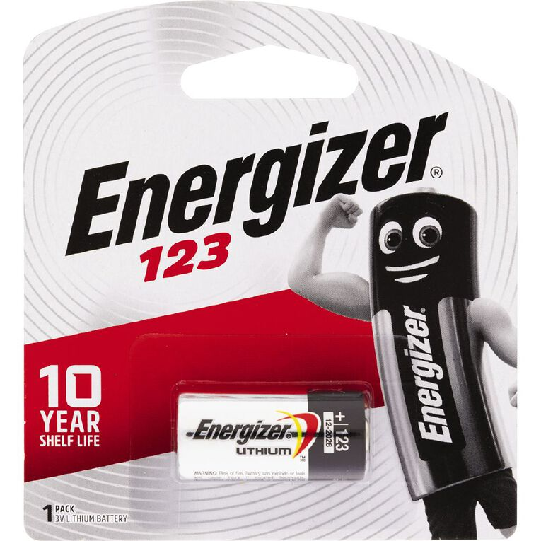 Energizer Lithium Coin Battery 123, , hi-res