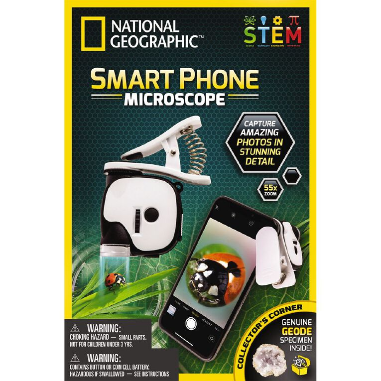 National Geographic Smart Phone Microscope, , hi-res