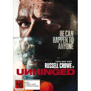 Unhinged (2020) DVD 1Disc