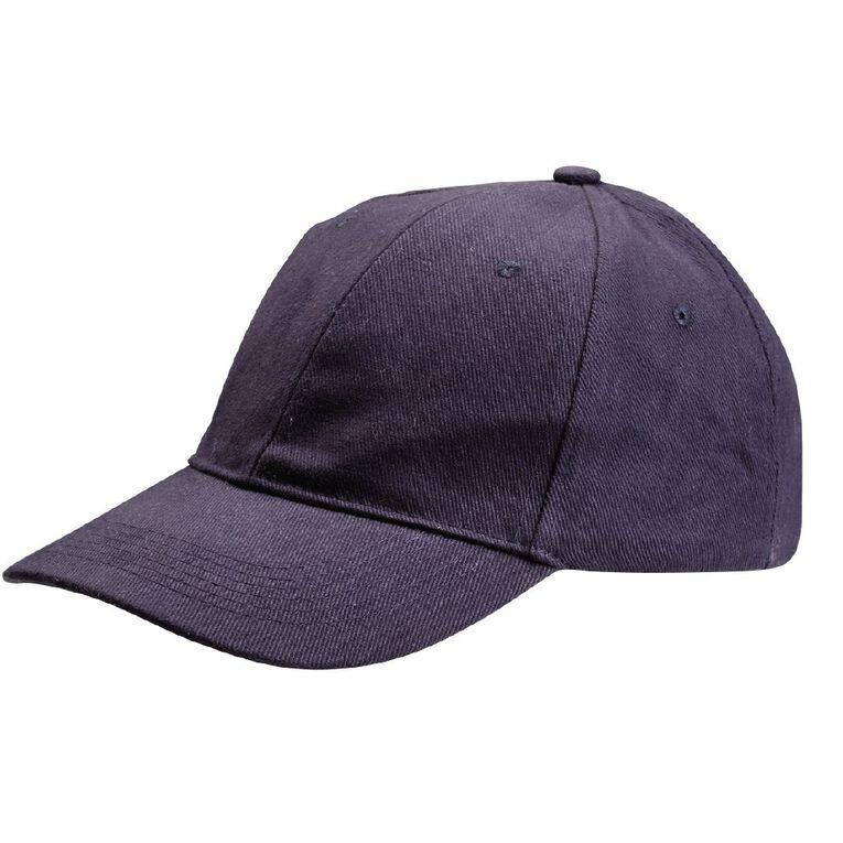 Schooltex Baseball Cap, Navy, hi-res