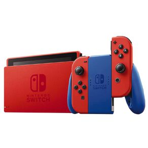 Nintendo Switch Console Mario Red and Blue