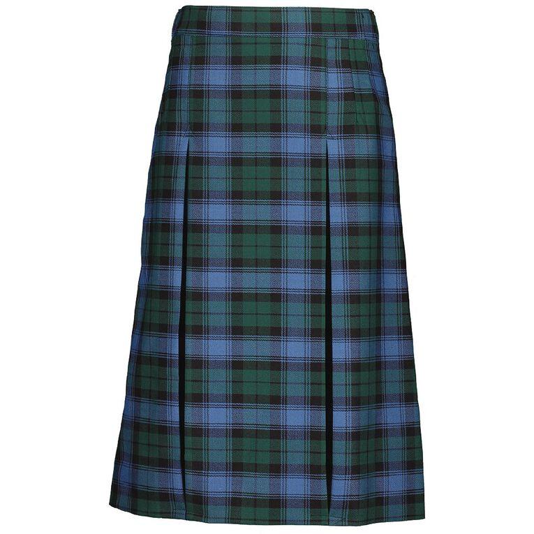 Schooltex Wool Mix Skirt, Schooltex Tartan TRT009, hi-res