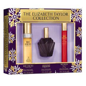 Elizabeth Taylor White Diamonds 3pc Coffret