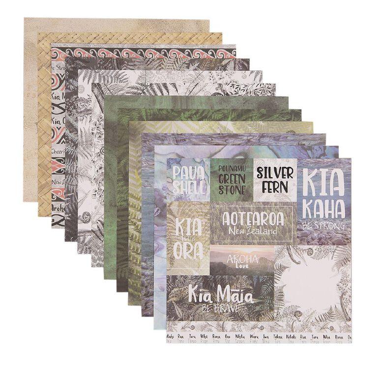 Uniti Designer Paper 12x12in 12 Sheets New Zealand, , hi-res