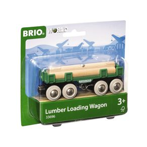 Brio Lumber Loading Wagon 4 Pieces