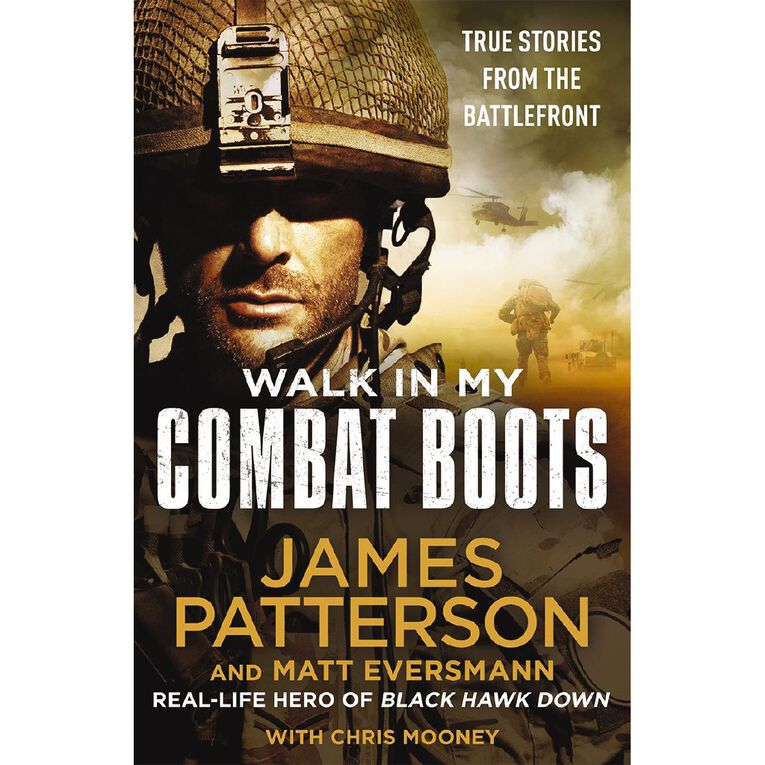 Walk in My Combat Boots by James Patterson, , hi-res image number null