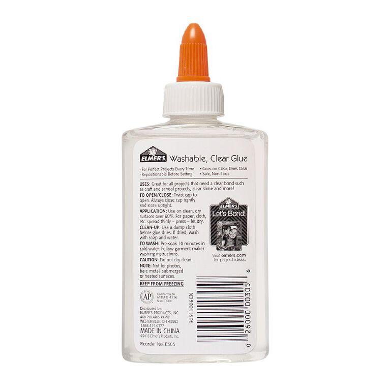 Elmer's Clear School Glue 147ml, , hi-res