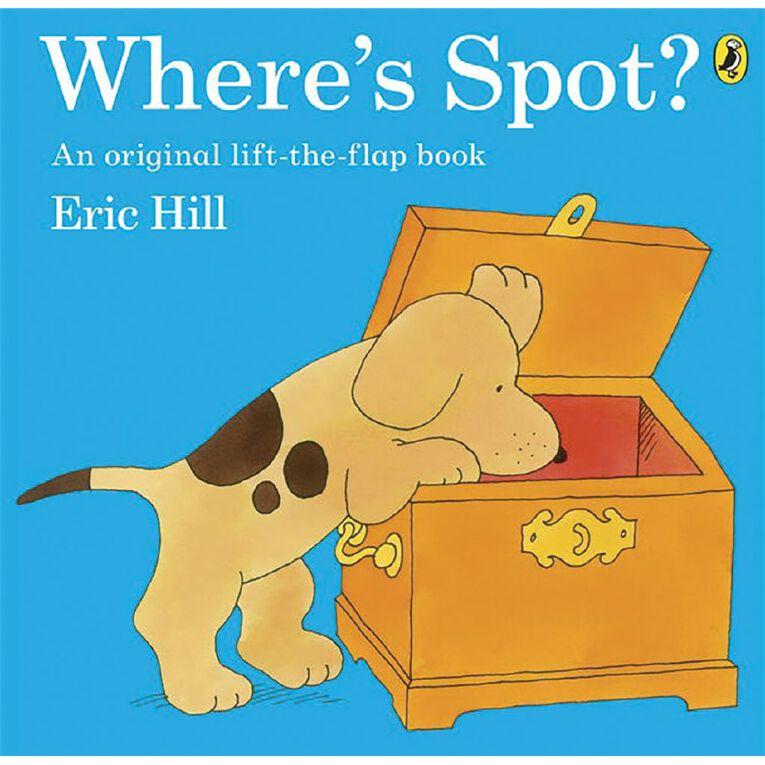 Where's Spot? by Eric Hill N/A, , hi-res