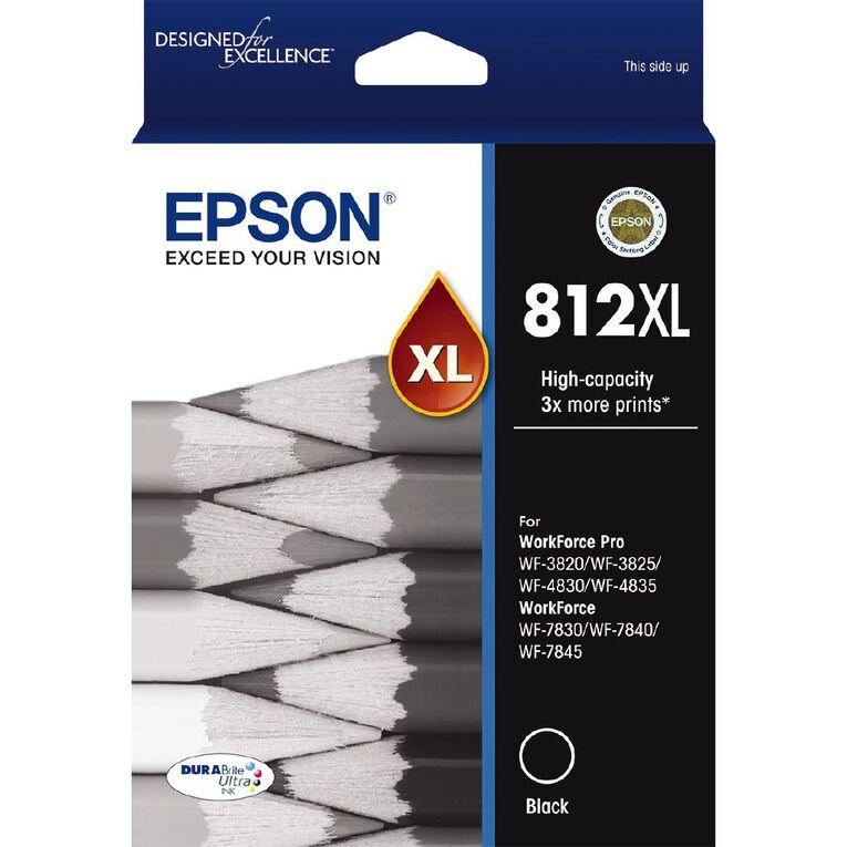Epson Ink 812XL Black (1100 Pages), , hi-res