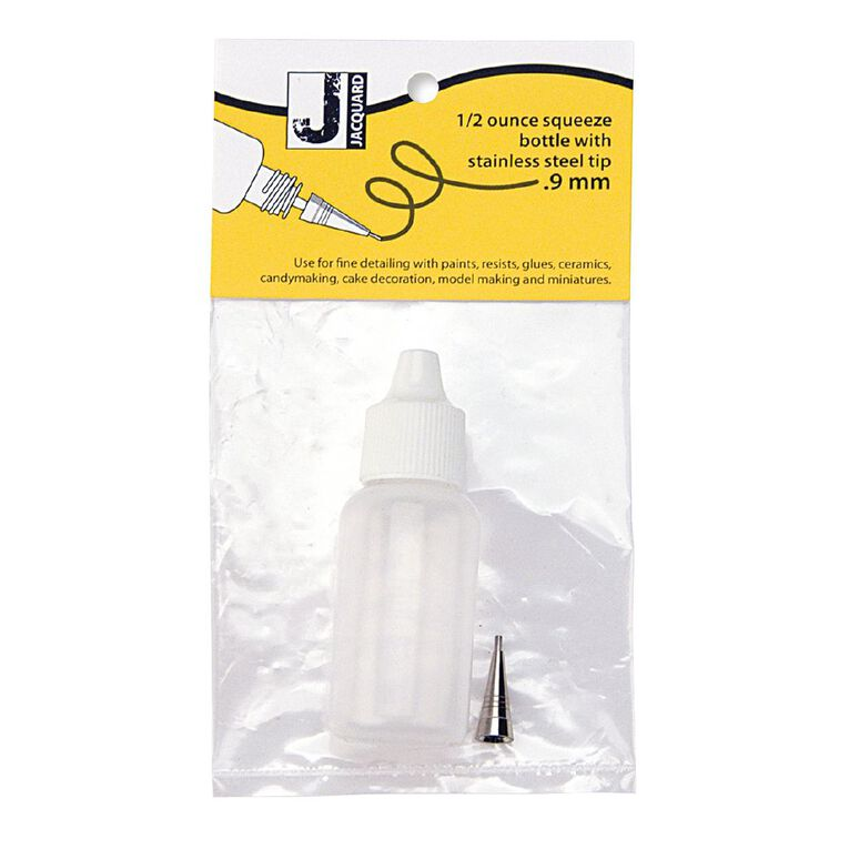 Jacquard Applicator Bottle 1/2oz #9 Tip, , hi-res