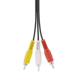 Tech.Inc 3RCA Plug to 3RCA Plug Cable 1.5m