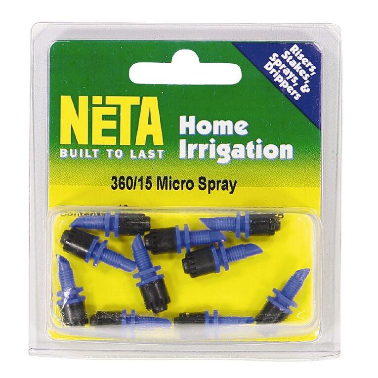 Neta Micro Irrigation Blue Base Micro Spray 360 Degree 10 Pack, , hi-res