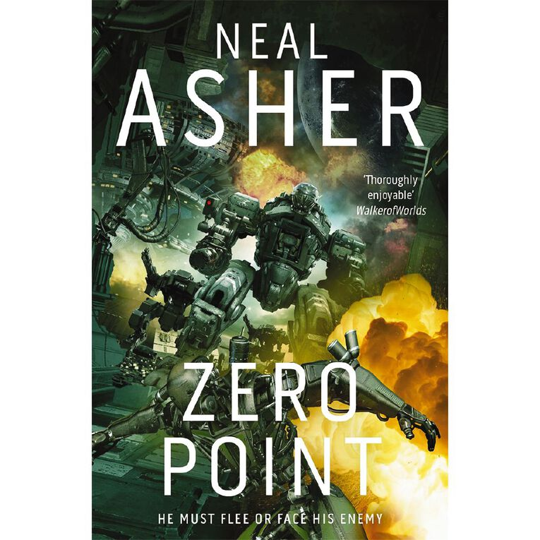 Owner #2 Zero Point by Neal Asher, , hi-res image number null