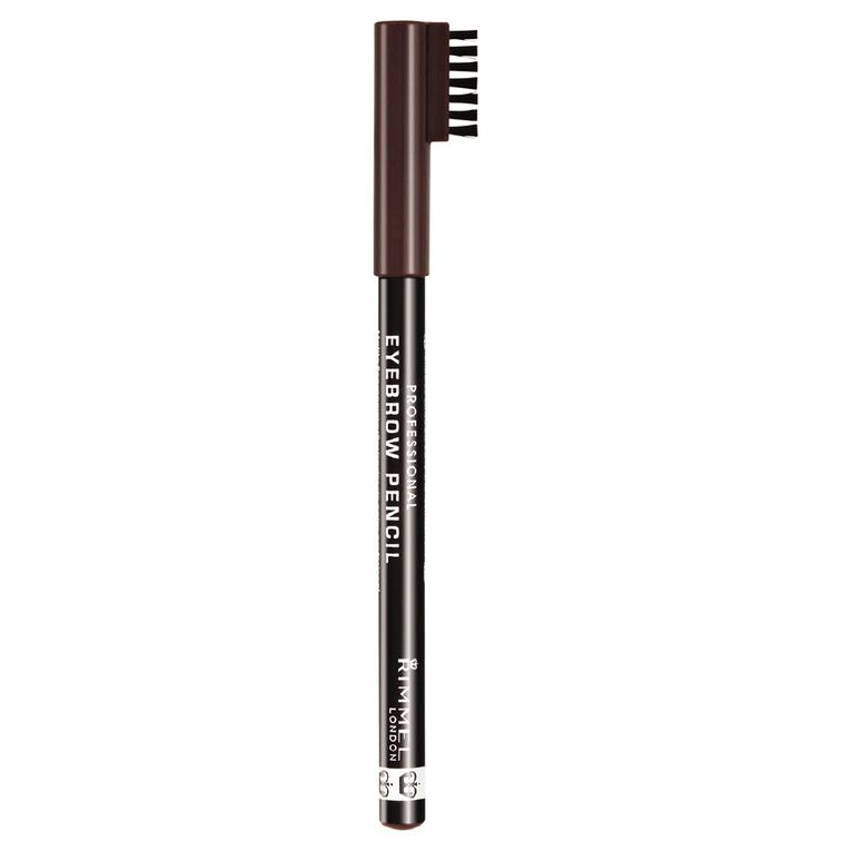 Rimmel Professional Eyebrow Pencil Dark Brown, , hi-res