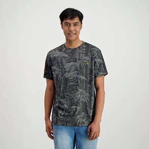 Back Country Men's Cooldry Spliced Camo Tee