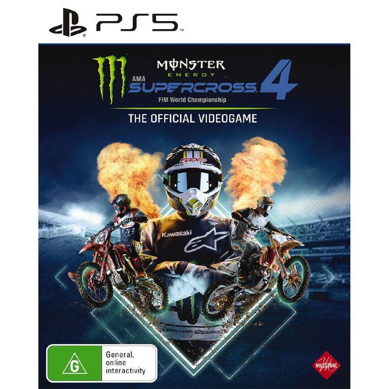 PS5 Monster Energy Supercross 4, , hi-res