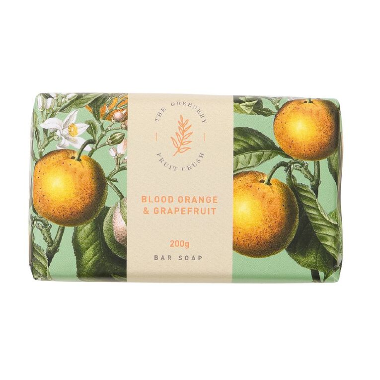 Winter Fruit Blood Orange And Grape Fruit Soap 200g, , hi-res