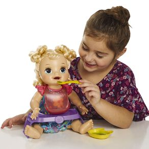 Baby Alive Blonde Happy Hungry Baby