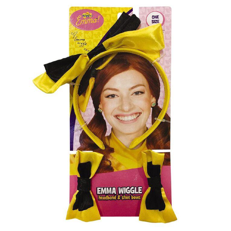 Wiggles Emma Headband & Shoe Bows, , hi-res