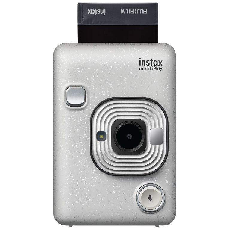 Fujifilm Instax Mini LiPlay Instant Camera White, , hi-res