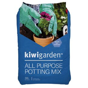 Kiwi Garden All Purpose Potting Mix 30L