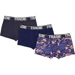 Tradie Boys' Trunks 3 Pack