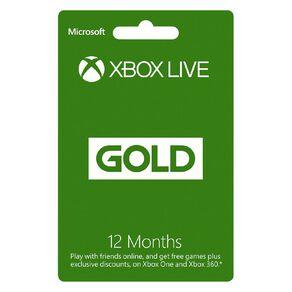 Xbox Live Gold 12M NZ POSA