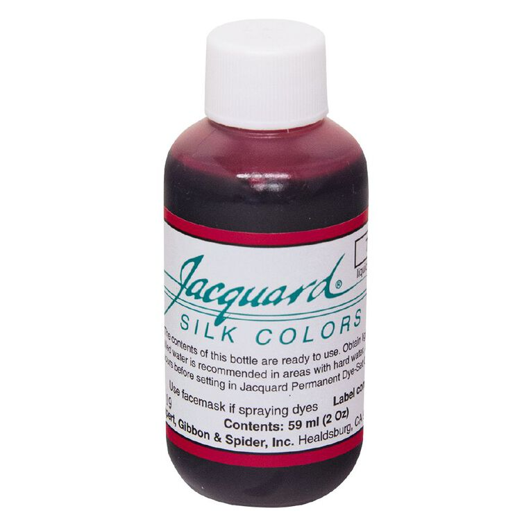 Jacquard Silk Green Label Dye 59.15ml Magenta Red, , hi-res