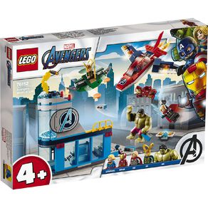 LEGO Marvel Super Heroes Avengers Wrath of Loki 76152
