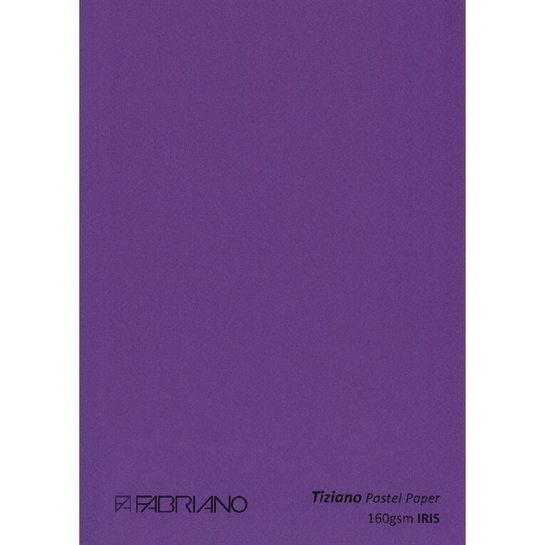 Fabriano Tiziano Pastel Paper 50cm x 65cm Iris Purple, , hi-res